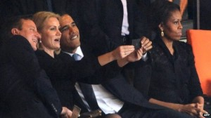 Shameful Obama selfie debunks B2B myth